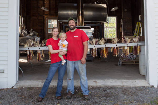 The Latanzi's at Hollis Hills Farm got technical assistance to expand their farming business.