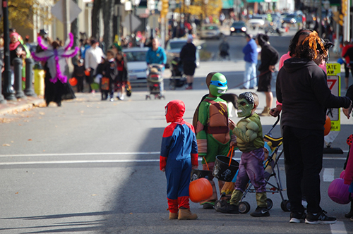 Trick or Treat on Main St. 2015