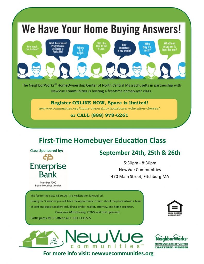 First-Time Homebuyer Classes | New Vue Communities